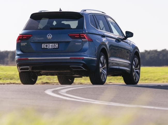 It gets along: Tiguan Allspace uses Golf GTI engine with slightly lower outputs
