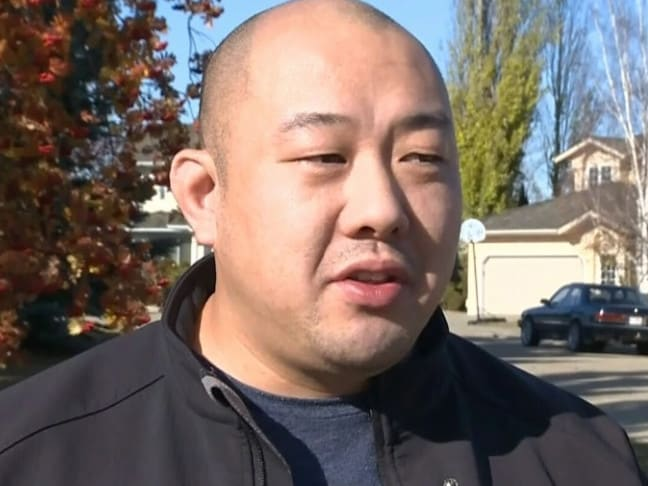 Tech savvy homeowner Clem Ho. Picture: CTV News