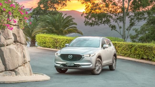 Family value: Mazda's CX-5 is one of the cheapest mid-size SUVs to operate.