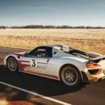The Porsche 918 Spyder was Porsche's first major foray into road-going hybrid performance cars.