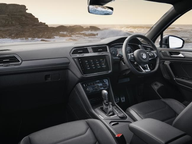 Leather trim: Allspace, as tested with R-Line pack, is just shy of 0K