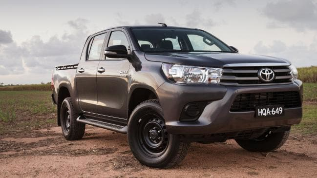 Hidden costs: A Toyota HiluX dual-cab ute loses more than 00 in value every week.
