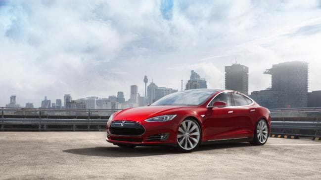 Shocking price: The Tesla Model S's running costs far outweigh the fuel savings.
